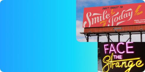 Jasa Custom Advertising Billboard Letter Timbul Neon Flex